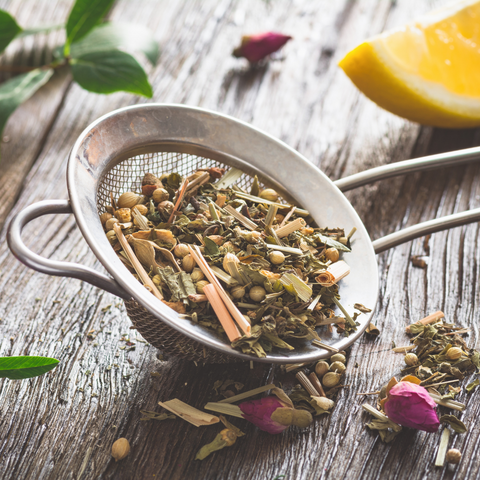 herbal tea and herbal infusions