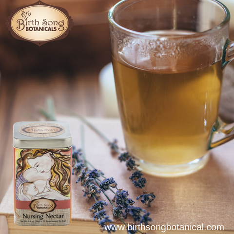 Herbal tea safe for breastfeeding