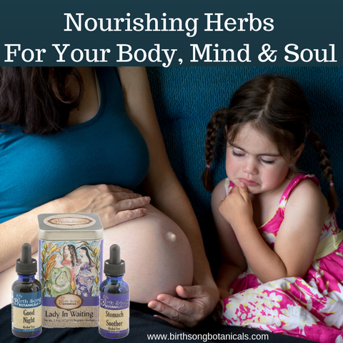 Nourishing herbs for pregnancy