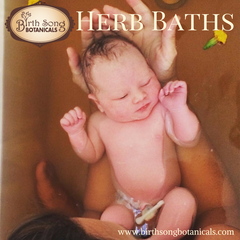 postpartum herb baths
