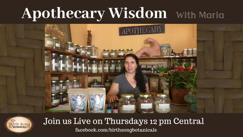 Apothecary Wisdom -Birth Song botanicals youtube channel