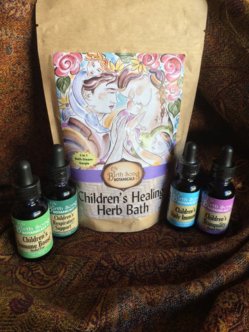 Children's herbs for coughs and fevers