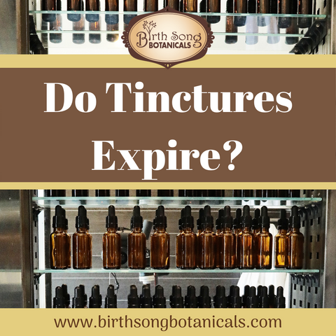 Do herbal tinctures expire?