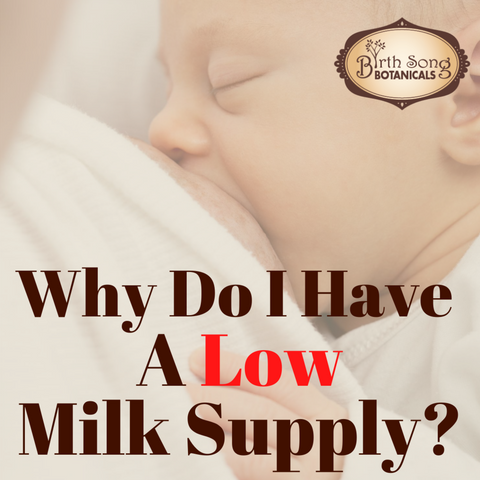 Why do I have a low milk supply