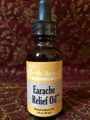 herbal earache relief oil
