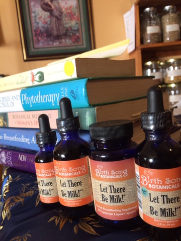Let There Be Milk Breastfeeding supplement to boost breastmilk supply