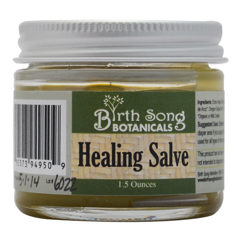 Healing all sorts of owies with BirthSong Botanicals Healing Salve