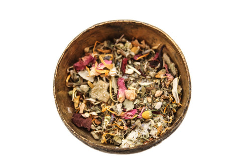 Herbs, nature, and routine can help you to enjoy your menstrual cycle. - Birth Song Botanicals