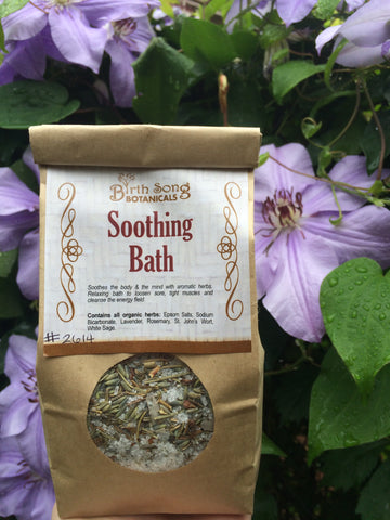 Sooting Herb bath