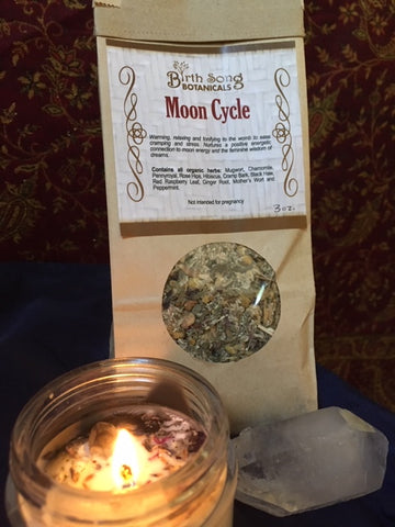 Moon Cycle Herbal Tea to Support Menstruation