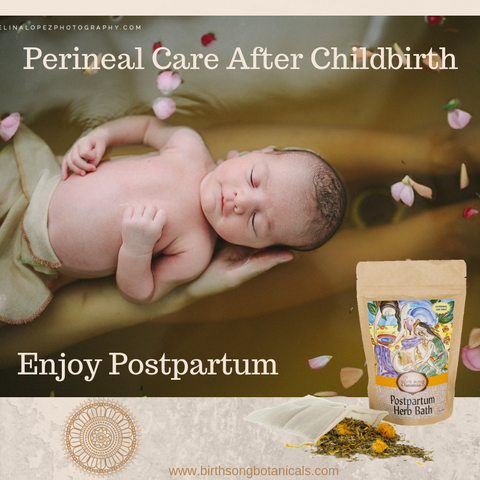 postpartum perineal care