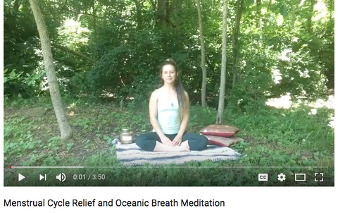 Cycle Relief Oceanic Breath for Period Pain