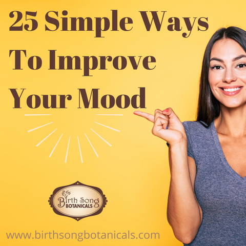 25 simple ways to improve your mood