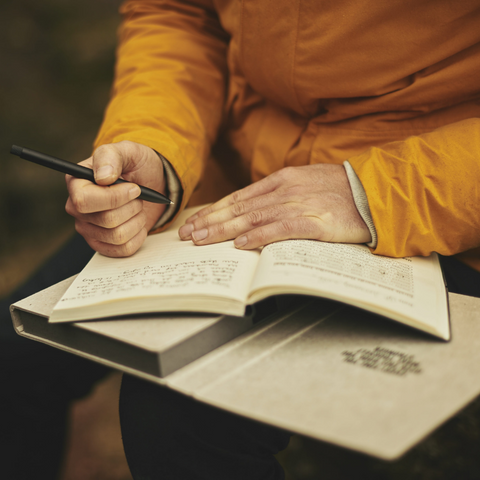 Guided meditation for journaling