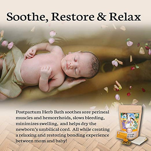 postpartum herb bath for postpartum recovery