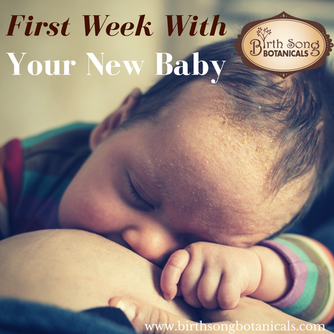 first week with your newborn baby