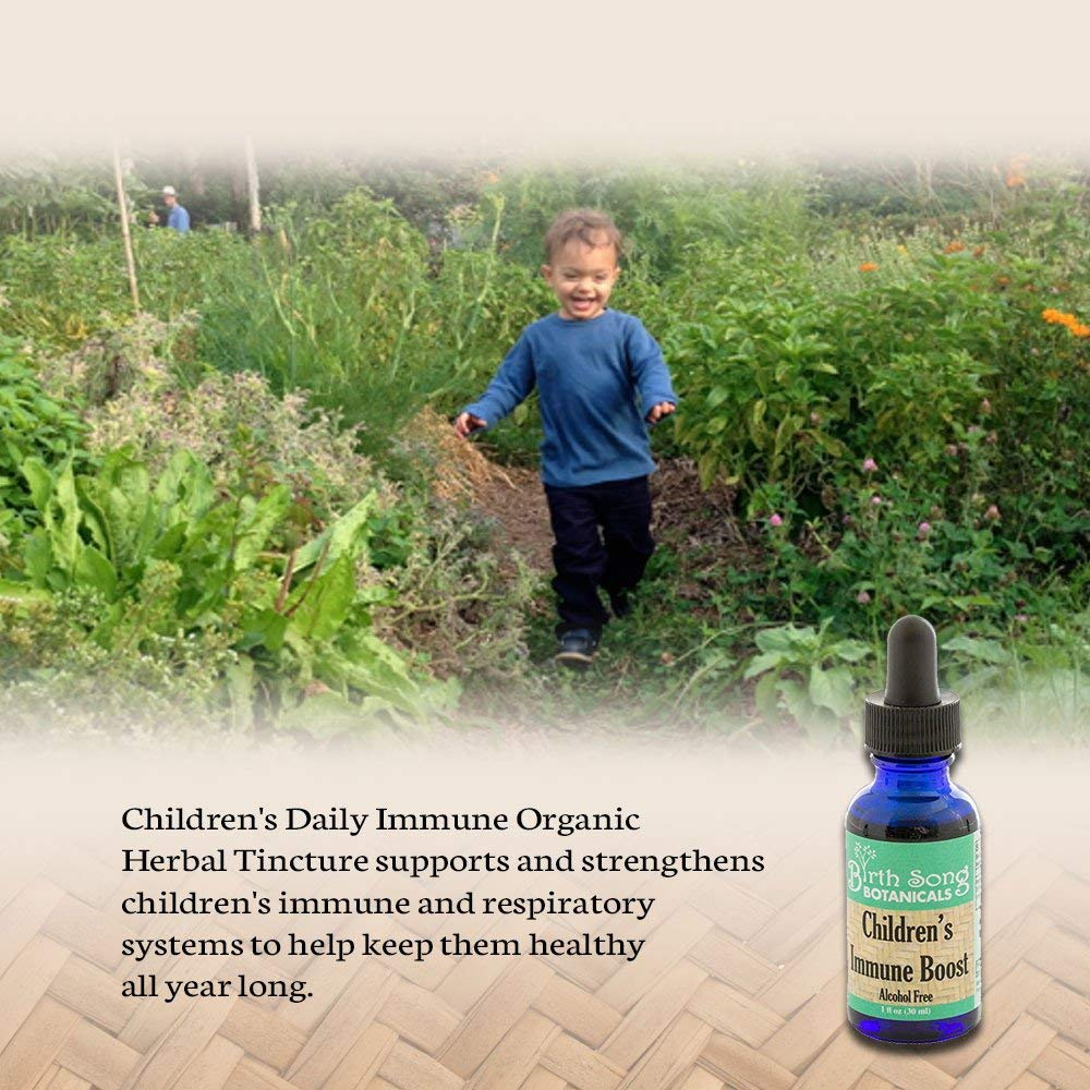Children's Immune Boost with Organic Echinacea