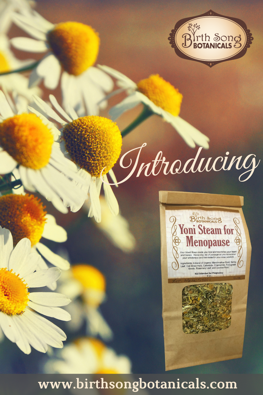 Yoni steam for menopause and hot flashes