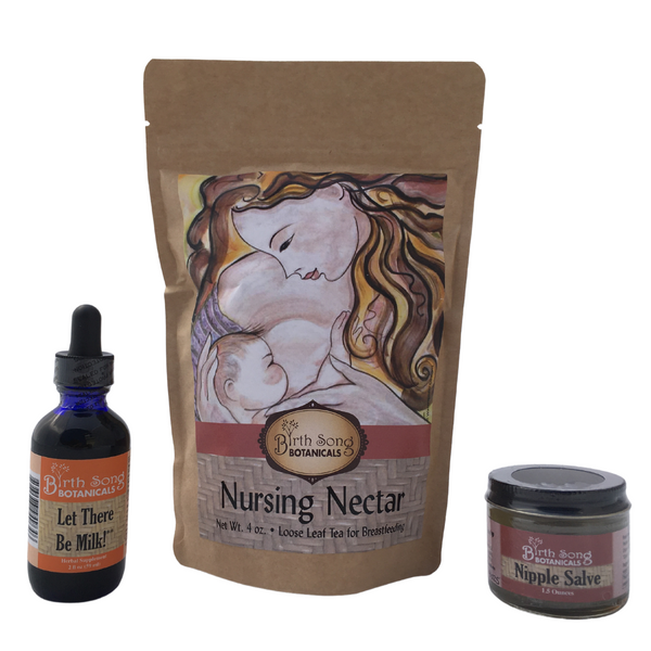 Organic Breastfeeding Kit For New Moms