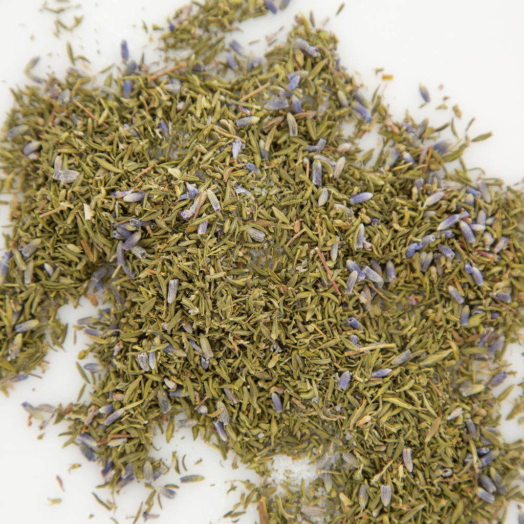 thyme and lavender herbs for lung congestion
