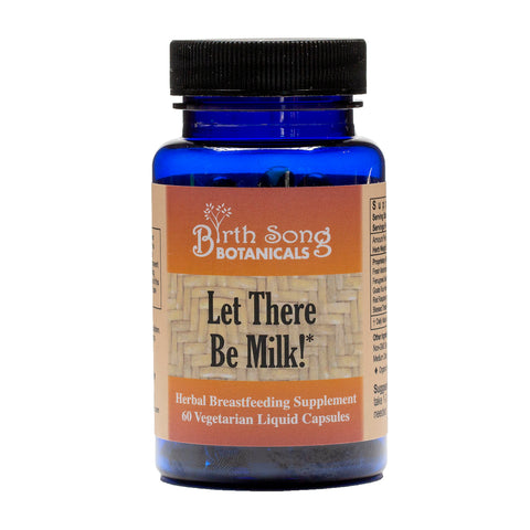 Let There Be Milk! Herbal Breastfeeding Supplement-Liquid Vegetarian Capsules 60 Ct.