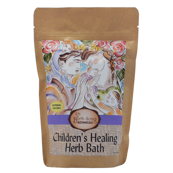 Children's Healing Herb Bath for lung and nasal congestion