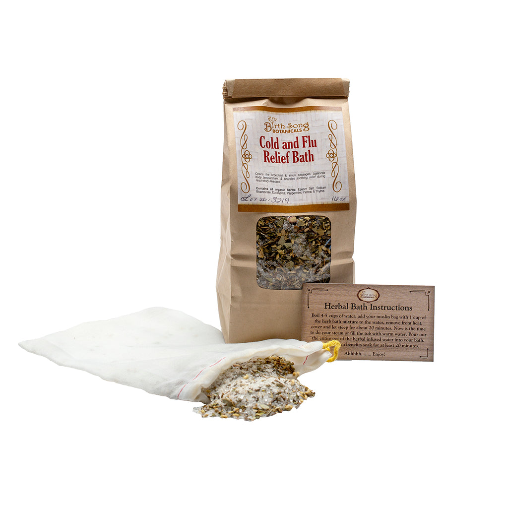 herbal cold and flu Recovery Kit cold and flu bath