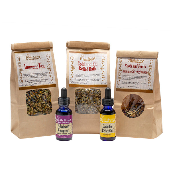 herbal cold and flu Recovery Kit