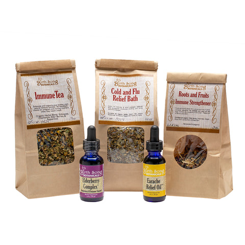 Herbal Cold and Flu Kit