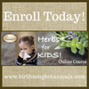 Children's tranquility and online herbs for kids course