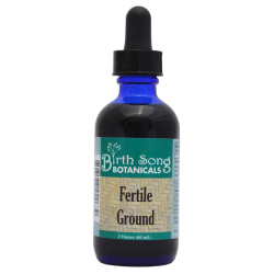 Fertile Ground herbal fertility and Conception support tincture