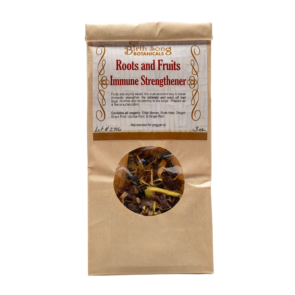 herbal cold and flu Recovery Kit. roots and fruits tea