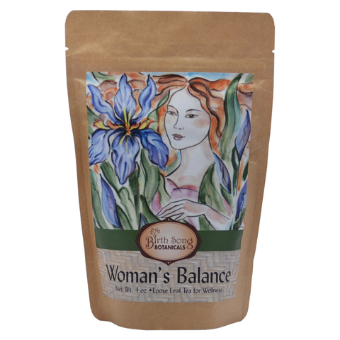 Woman's Balance Loose leaf Herbal tea for stress relief