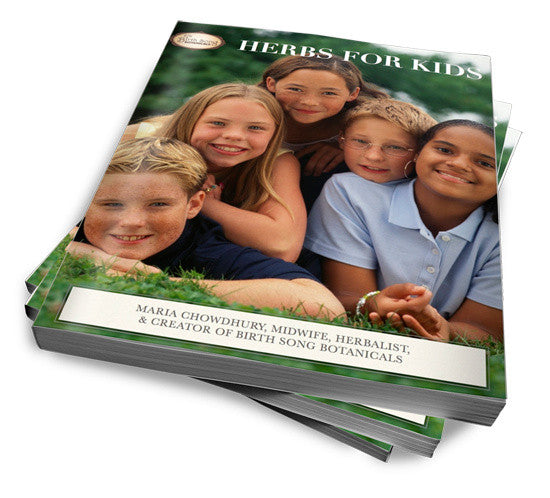 Herbs for kids paperback