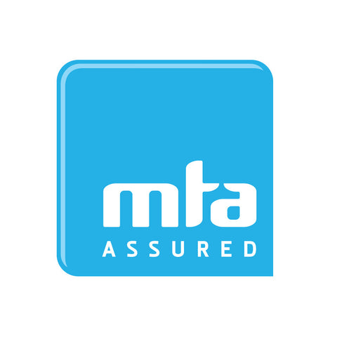 MTA  200mm x 200mm Self- Adhesive Sticker (plus postage). Member Price:
