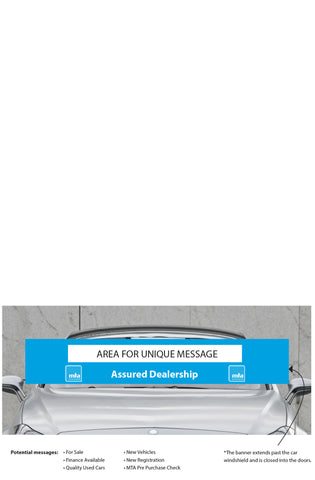 MTA Vehicle Banner. Member Price: