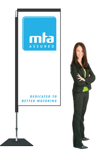 MTA Swing Single Sided.  2.1m. Member Price Starting At  (Choose your options from the drop down list).: