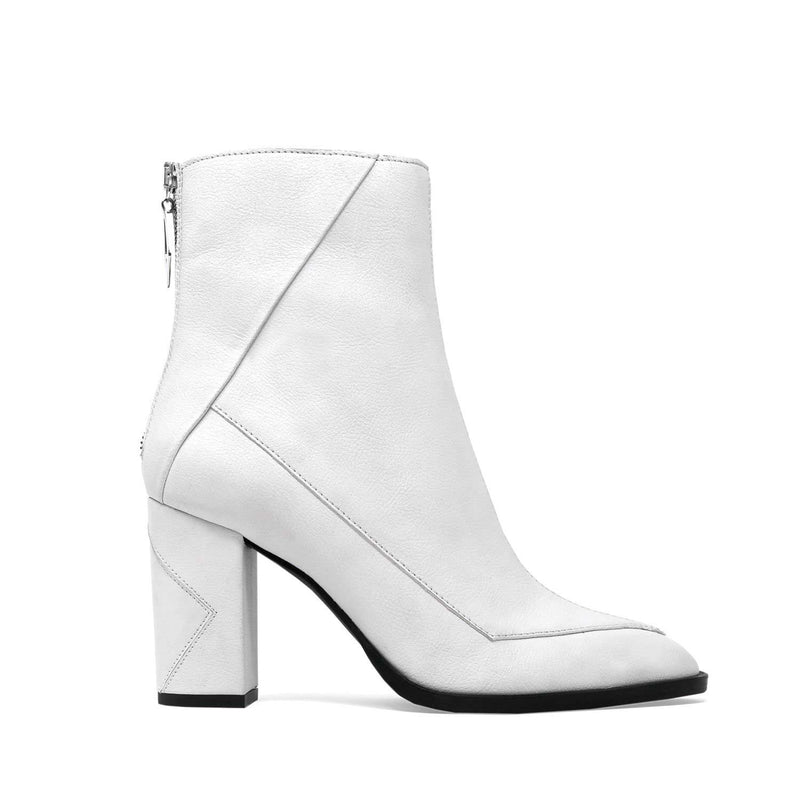 ALMASI white vegan apple leather