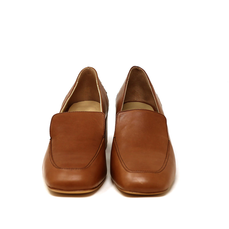 MARLENE cognac leather