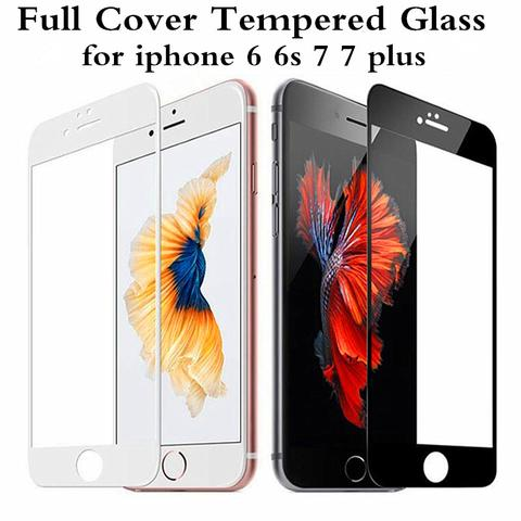 Tempered  Screen Protector Glass For Iphone 6/6S 6/6SPLUS 7/7PLUS