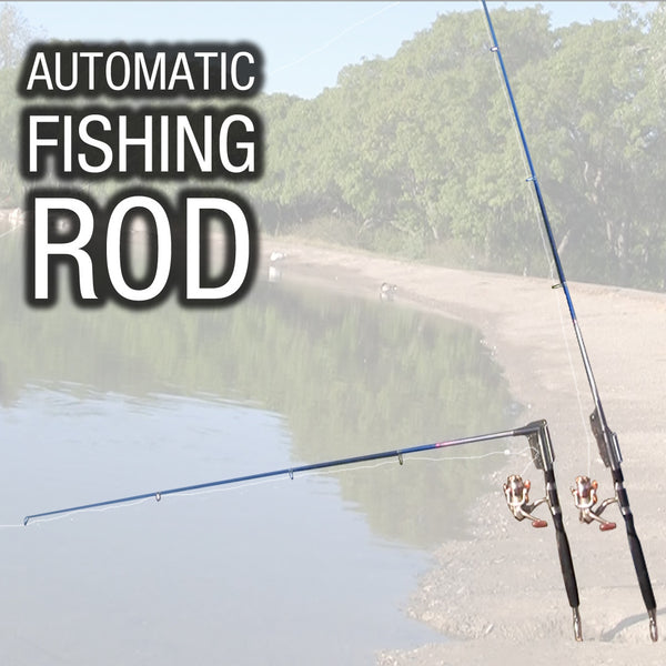Automatic Fishing Rod - Fishing Pole Hook Setter