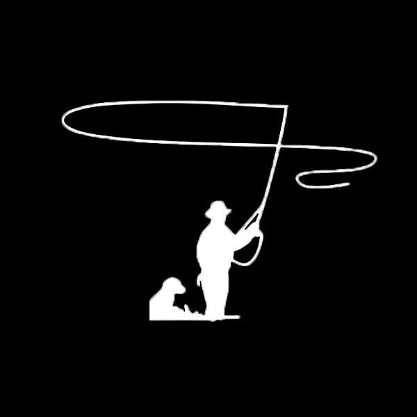 Fly Fishing Vinyl Decal - Fly Fishing Club