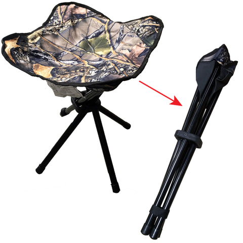 Camouflage Hunting & Fishing Folding Stool
