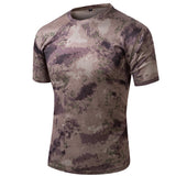 Camouflage Military Tactical T-Shirts - Quick Dry