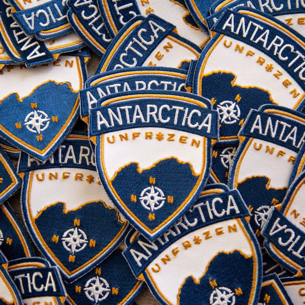 Antartica Unfrozen Patch + Sticker Pack