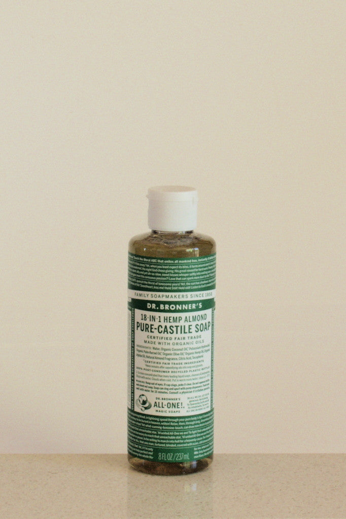 Dr Bronner's castile soap - Almond - 237mL