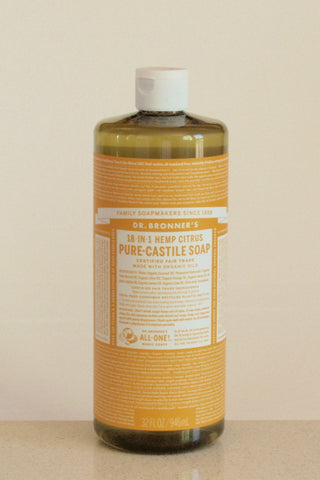 Dr Bronner's castile soap - Citrus - 946mL