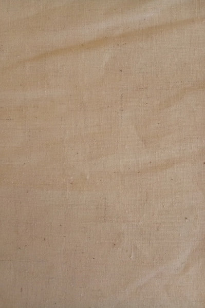 Unbleached organic cotton and hemp fabric for DIY produce bags - close view of fabric