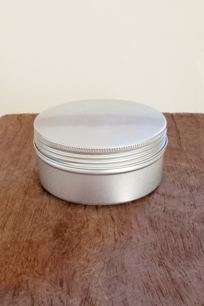 Metal tin for homemade cleaning products