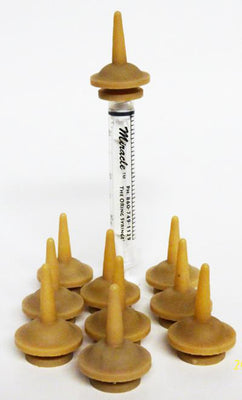 Original Miracle Nipple Pkg/10 - Includes 1- 3ml Oring Syringe